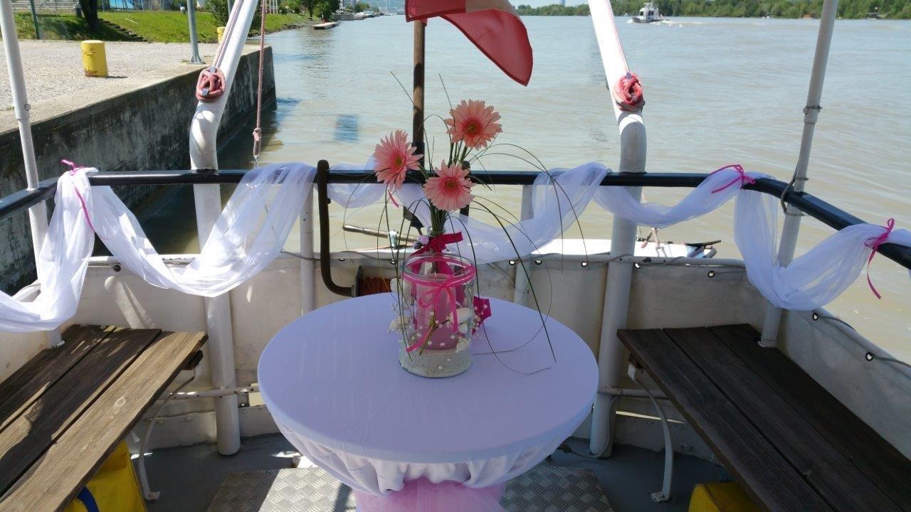 Hochzeit wien schiff